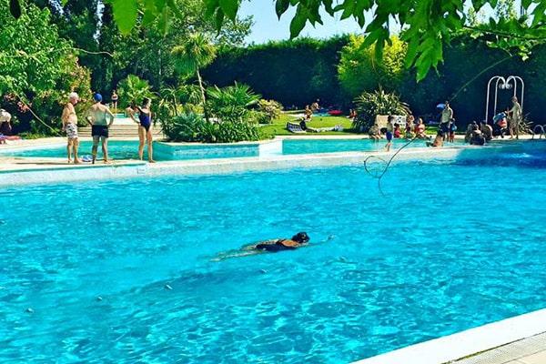 piscine de 25 mètres