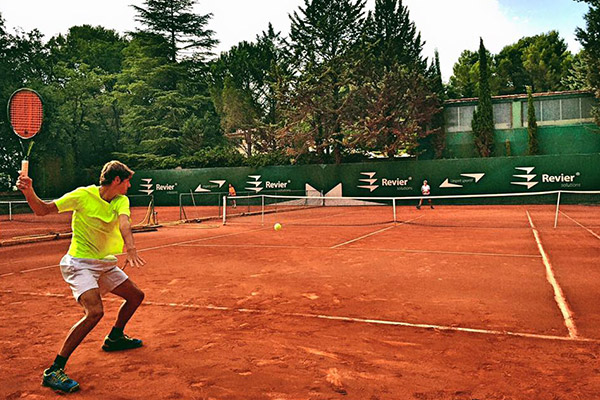 tennis sur terre battue